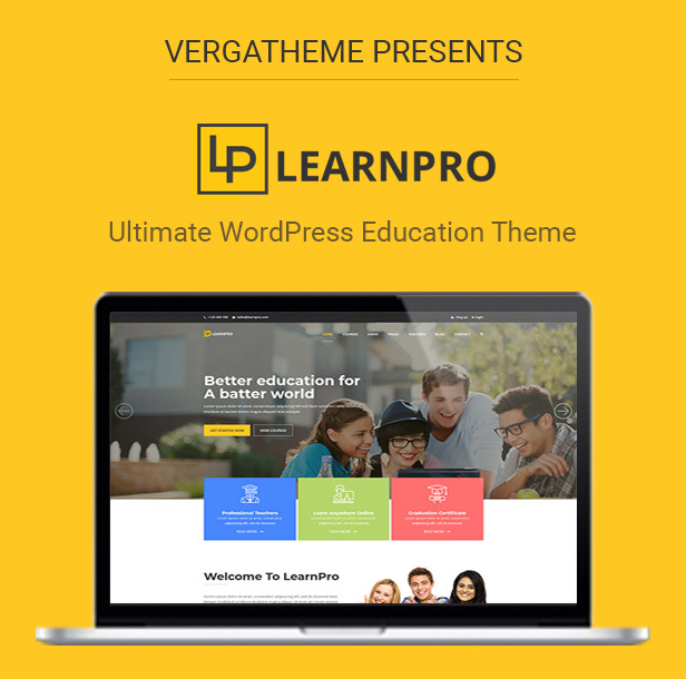 LearnPro – Education WordPress Theme (Education)