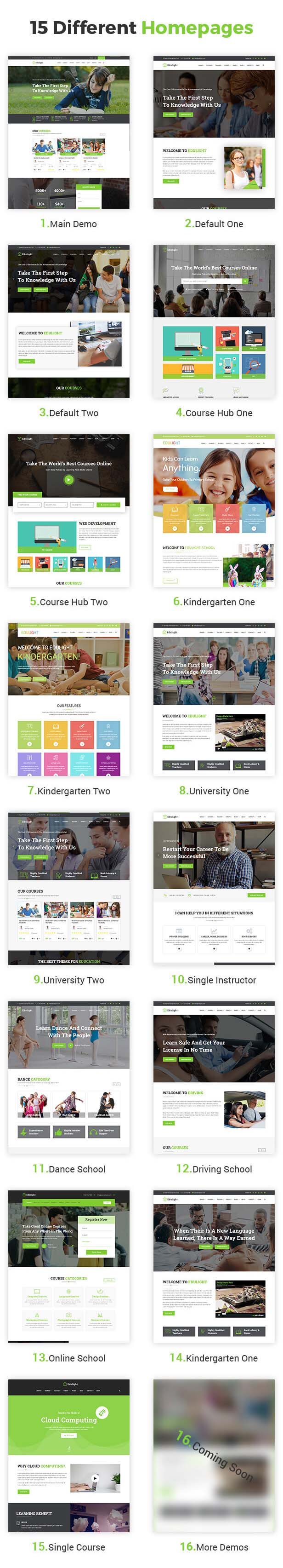 EduLight - Multipurpose Education Template